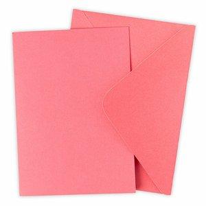 Sizzix Surfacez Card & Envelope Pack Primrose 10 pcs