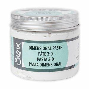 Pasta Dimensional 3D Sizzix Effectz White 150 ml