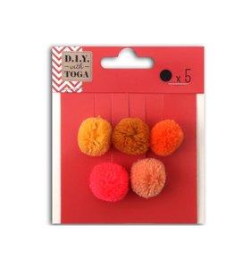 Set pompones Juicy