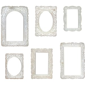 Tim Holtz Idea-Ology Baseboard Frames 6 pcs