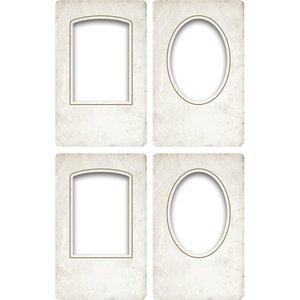 Tim Holtz Idea-Ology Bookboard Collage Frames 4 pcs