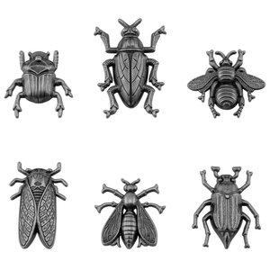 Tim Holtz Idea-Ology Metal Adornments Insects 6 pcs