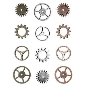 Tim Holtz Idea-Ology Metal Sprocket Gears 12 pcs