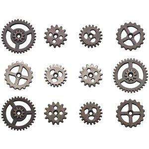 Tim Holtz Idea-Ology Metal Mini Gears 12 pcs