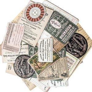 Tim Holtz Idea-Ology Layers Cards 33 pcs