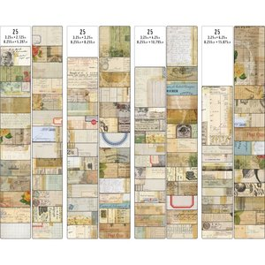 Tim Holtz Idea-Ology Journal Cards 100 pcs