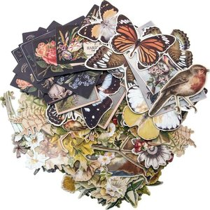 Tim Holtz Idea-Ology Ephemera Pack Layers Botanical 83 pcs