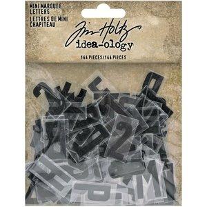 Tim Holtz Idea-Ology Mini Marquee Letters 144 pcs
