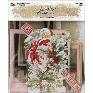Marcos de chipboard Christmas 2019 Tim Holtz