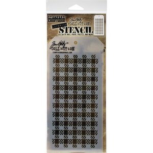 Máscara Tim Holtz Gingham Christmas 2020