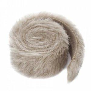 Fur Trim Roll 6 cm x 2 metros Beige