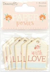 Maderitas Dovecraft Paper Posies Tags