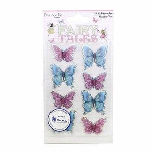 Mariposas 3D Fairy Tales con foil holográfico