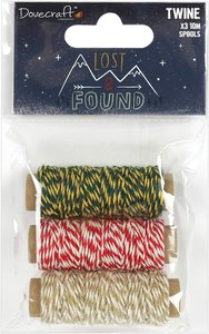 Set de bobinas de Twine Lost & Found