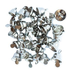 DP Christmas Mini Campanitas Silver 30 pcs