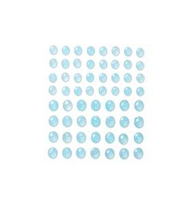DP Christmas Adhesive Stones Baby Blue