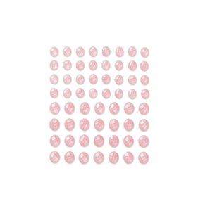 DP Christmas Adhesive Stones Cream Rose