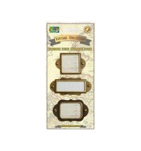 Portaetiquetas Vintage Collection Gold