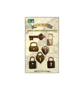 Set de llaves y candados Vintage Collection