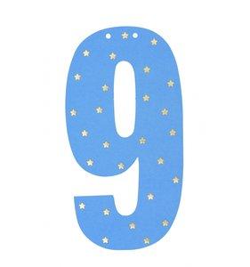 Guirnalda Número 9