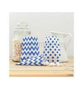 Mini Bolsitas de papel Azul