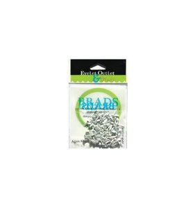 Brads 4 mm White