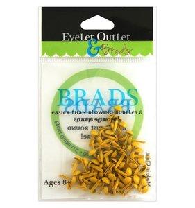 Brads 4 mm Yellow