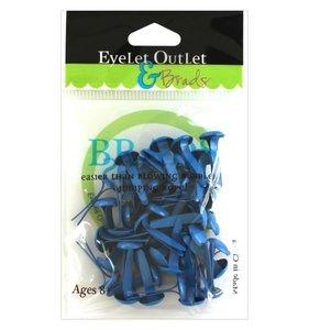 Brads 8 mm Dark Blue