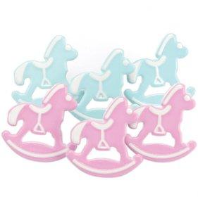 Set de brads Rocking Horses