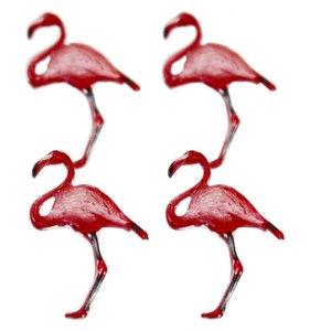Set de brads Flamingos