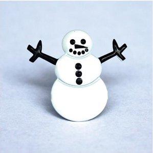 Set de brads Snowmans 12 pcs