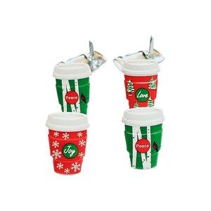 Set de brads Holiday Coffee Cup 12 pcs
