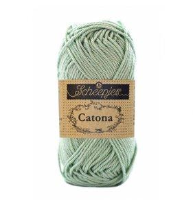 Hilo algodón Scheepjes Catona 25 m Silver Green