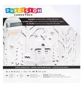 Pack de cartulinas de Precisión AC White 60 pcs
