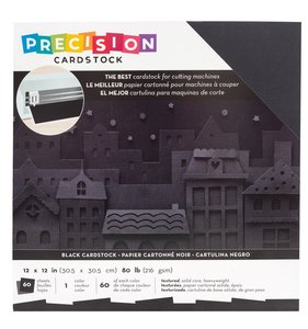 Pack de cartulinas de Precisión AC Black 60 pcs