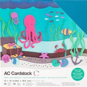 Stack Especial cartulinas texturizadas AC Jewel Tones 60 pcs
