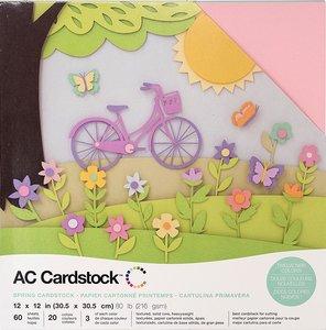 Stack Especial cartulinas texturizadas AC Spring 60 pcs