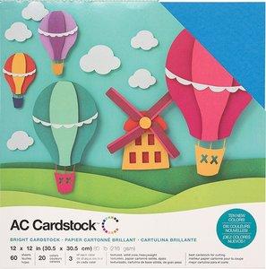 Stack Especial cartulinas texturizadas AC Brights 60 pcs