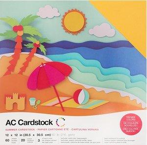 Stack Especial cartulinas texturizadas AC Summer 60 pcs