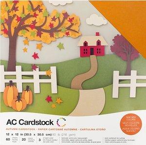 Stack Especial cartulinas texturizadas AC Autunm 60 pcs