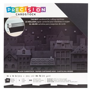 Stack Especial cartulinas de Precisión AC Black 60 pcs
