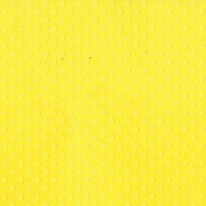 "Cartulina de lunaritos Bazzill 12x12"" Lemon Zest"