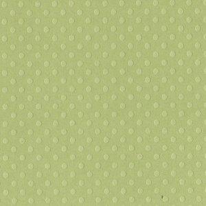 """Cartulina de lunaritos Bazzill 12x12"""" Celtic Green"""
