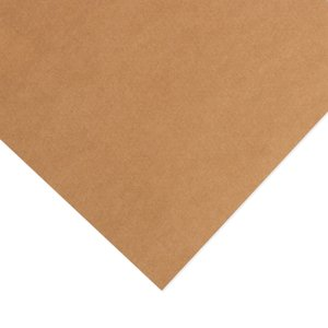 Cartulina Kraft Liner Natural 300 gr 12x12""