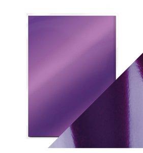 Pack 5 cartulinas A4 Mirror Electric Purple