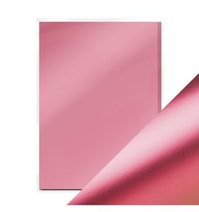Pack 5 cartulinas A4 Mirror Satin Pink