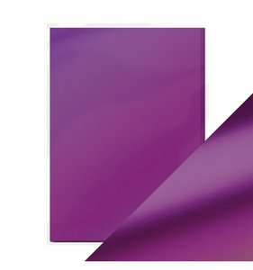 Pack 5 cartulinas A4 Mirror Satin Purple