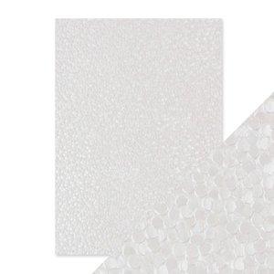 Papel A4 DeLuxe textura 3D Snowdrop