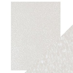 Papel A4 DeLuxe textura 3D Freshwater Pearls