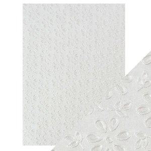 Papel A4 DeLuxe textura 3D English Lace
